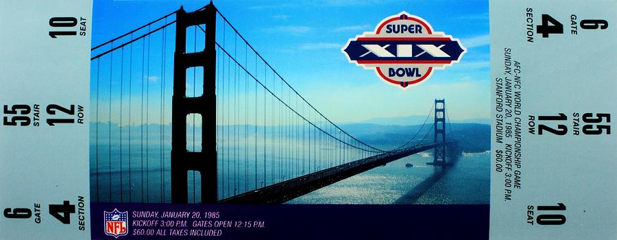 Super Bowl Photograph - Dans Chance by Benjamin Yeager