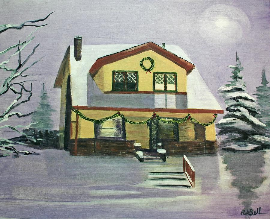 House Painting - Dans House by Randy Bell