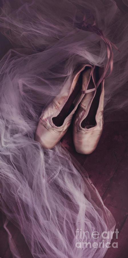 Shoes Photograph - Danse Classique by Priska Wettstein