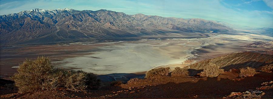 Landscape Photograph - Dantes View Panorama by David Salter
