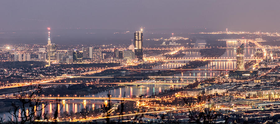 Vienna Photograph - Danube by Oleksandr Maistrenko