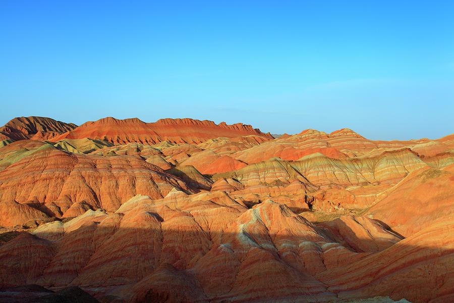 Danxia Landform In Zhangye Photograph by Bihaibo