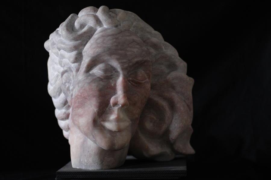 Stone Sculpture Sculpture - Daphne by Michael Marcotte