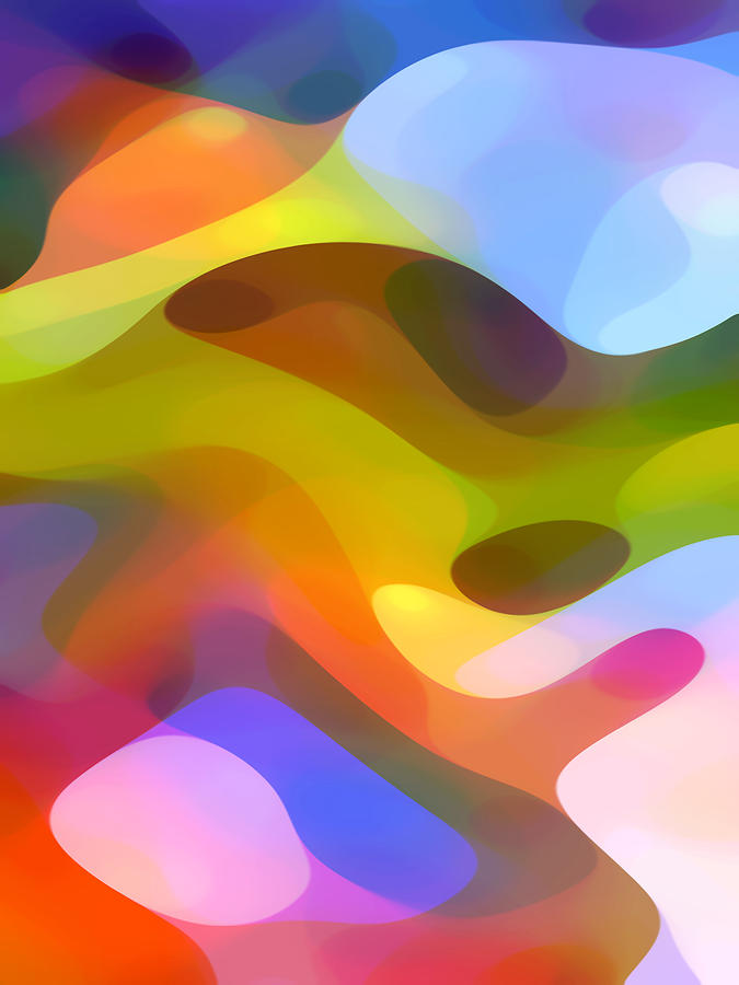 Abstract Painting - Dappled Light 5 by Amy Vangsgard