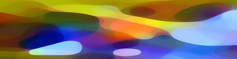 Bold Painting - Dappled Light Panoramic 1 by Amy Vangsgard