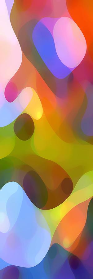 Bold Painting - Dappled Light Panoramic Vertical 3 by Amy Vangsgard