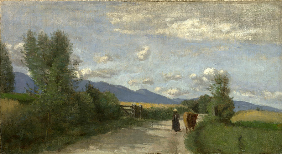 Dardagny Morning Painting By Jean Baptiste Camille Corot