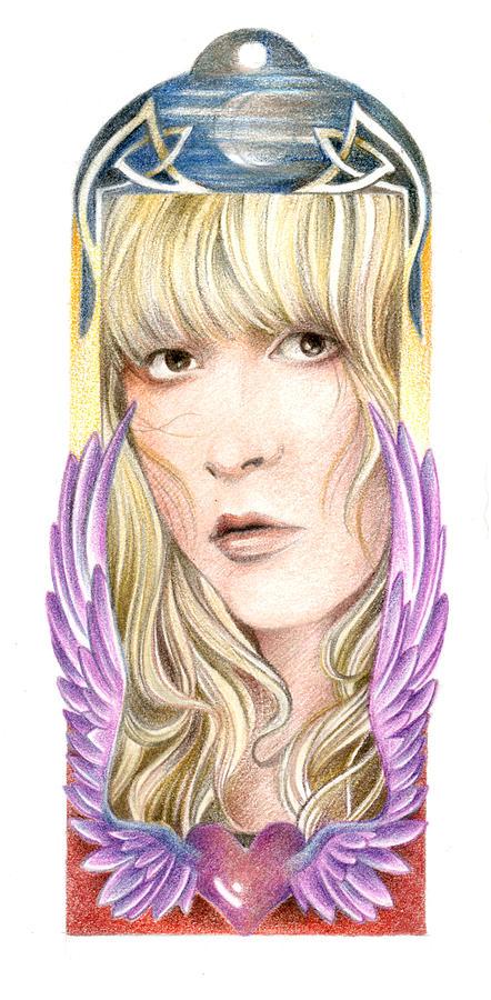 Wild Heart Drawing - Dare My Wild Heart by Johanna Pieterman