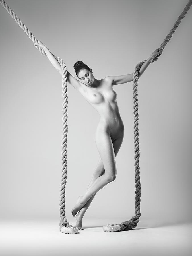 Rope Photograph - Daria by Arkadiusz Branicki