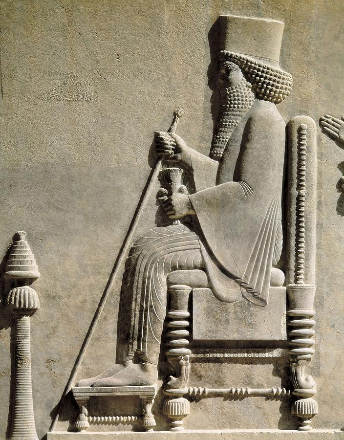 Darius I The Great 550 Bc-486bc. Darius Photograph by Everett