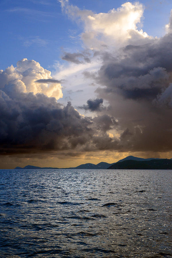 Clouds Photograph - Dark And Stormy by    Michael Glenn
