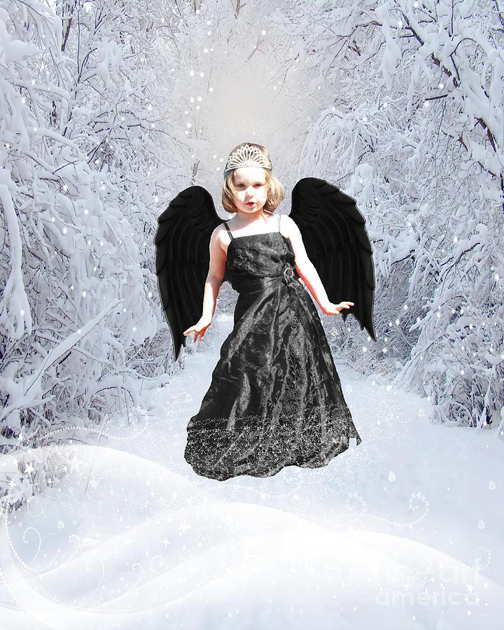 Gothic Photograph - Dark Fairy by ChelsyLotze International Studio