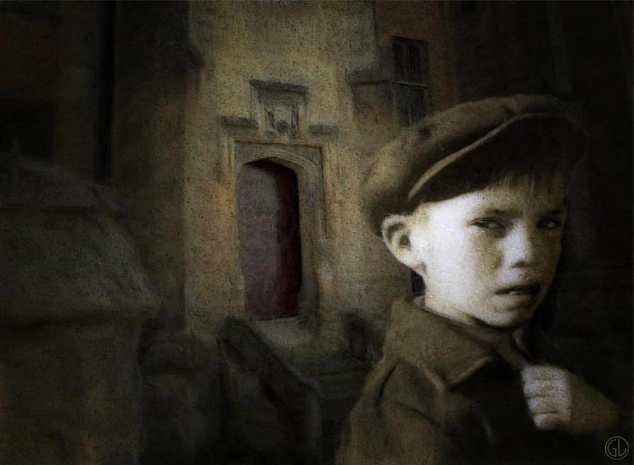 Urban Digital Art - Dark Memories by Gun Legler