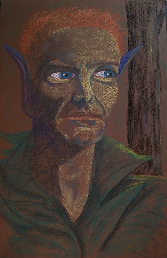 Dark Faerie Pastel - Dark Prince by Carrie Viscome Skinner
