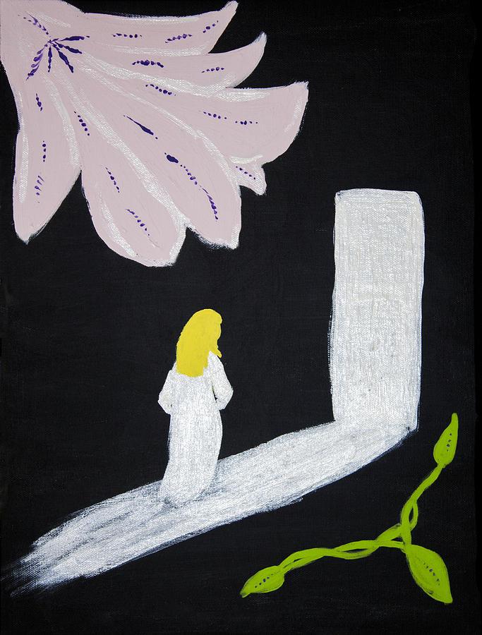 Darkness Painting - Dark Room by Melissa Dawn