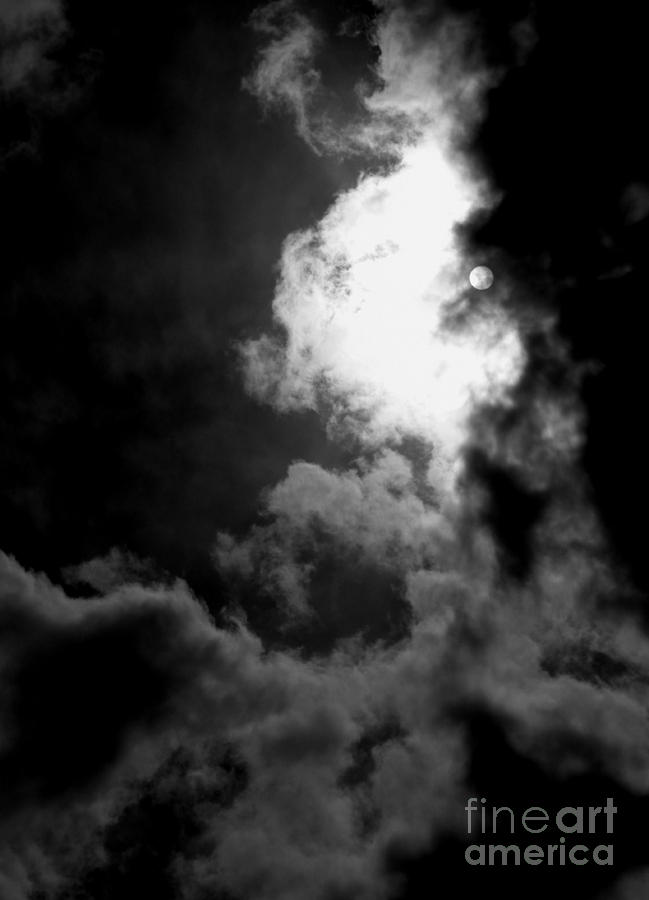 B W Photograph - Dark Side Of The Sun by Vicki Spindler