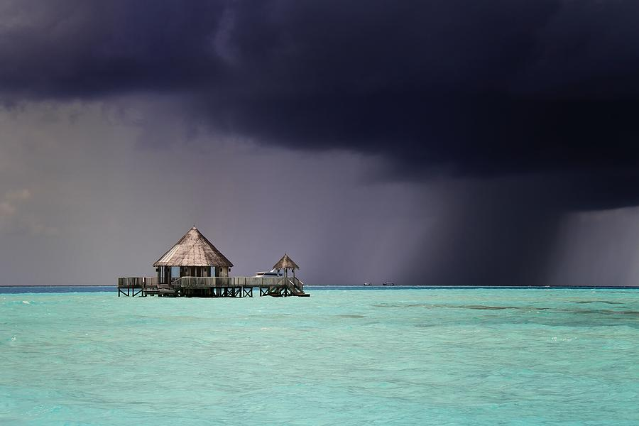 Dark Storm Approaching Photograph