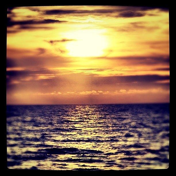Sunset Photograph - Dark Sunset by James McCartney