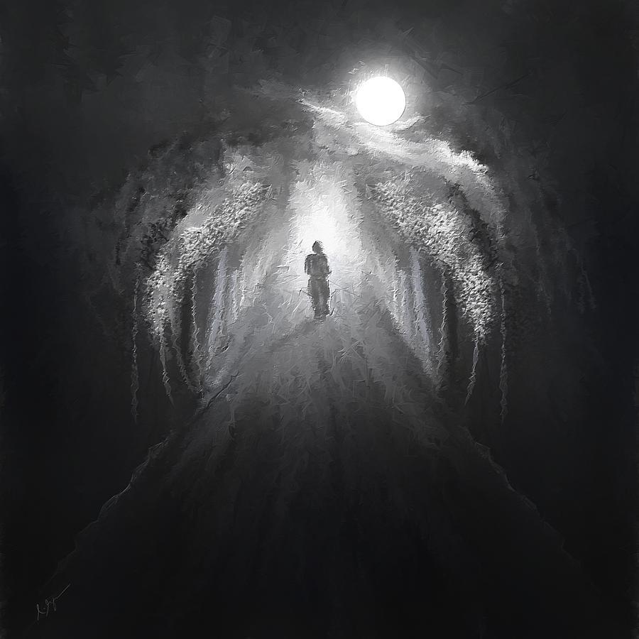 Dark To Light Painting By Lourry Legarde