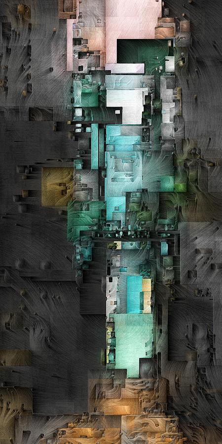 Digital Digital Art - Dark Tower 1 by David Hansen