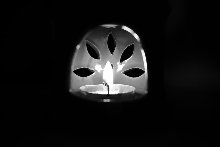 Serene Photograph - Darkside by Minoo Roshani