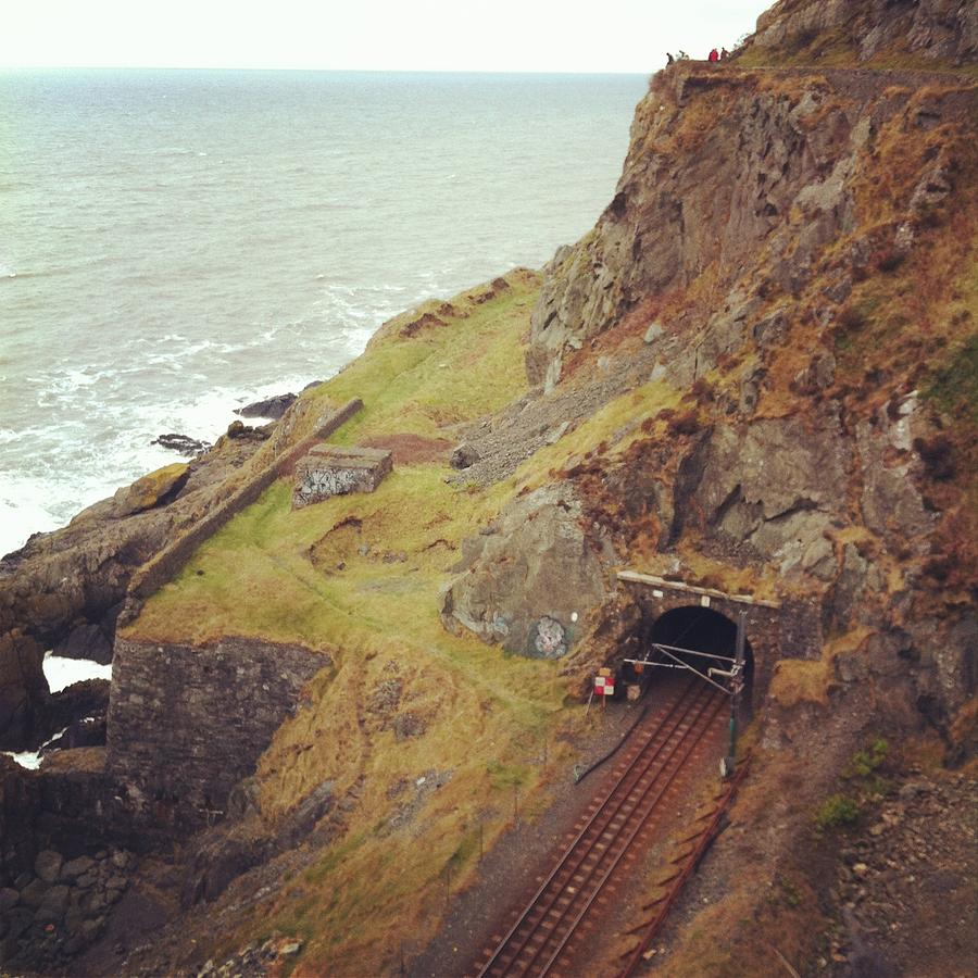 Dart Line Between Bray And Greystones Photograph by Universal Traveller