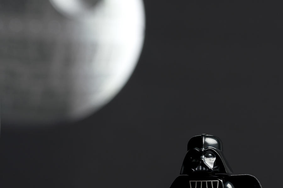 Darth And His Death Star Photograph
