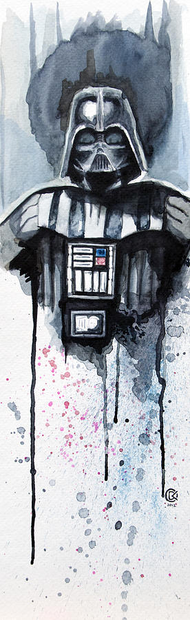 Star Wars Painting - Darth Vader by David Kraig
