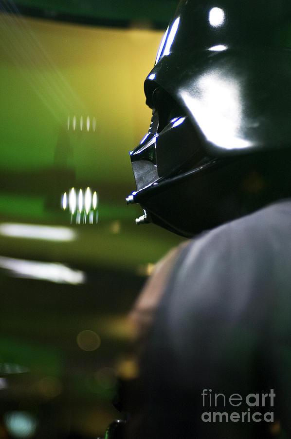 Star Wars Photograph - Darth Vader by Micah May