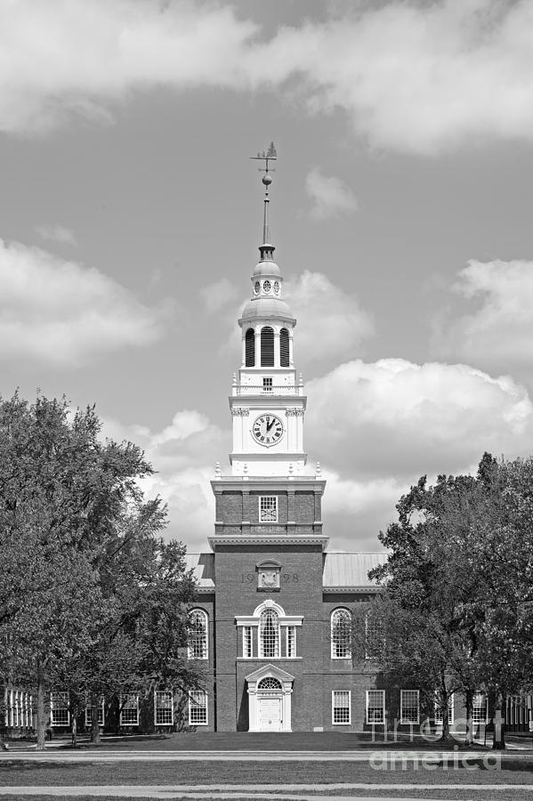 Big Green Photograph - Dartmouth College Baker- Berry Library by University Icons