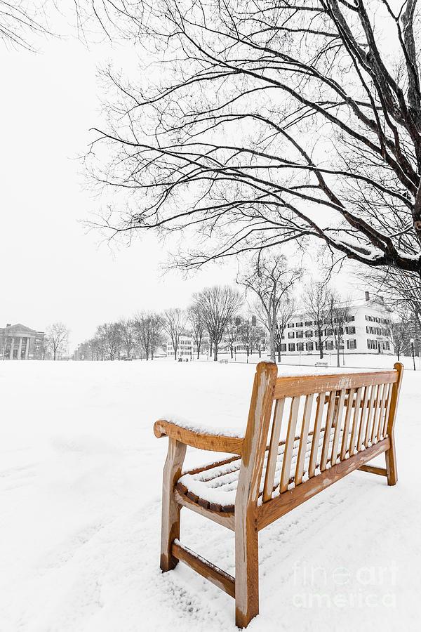 Dartmouth Photograph - Dartmouth Winter Wonderland by Edward Fielding
