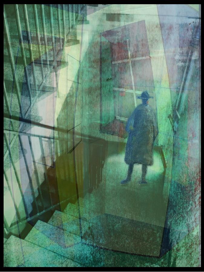 Foto Digital Art - Das Fenster Zum Flur  A by Gertrude Scheffler