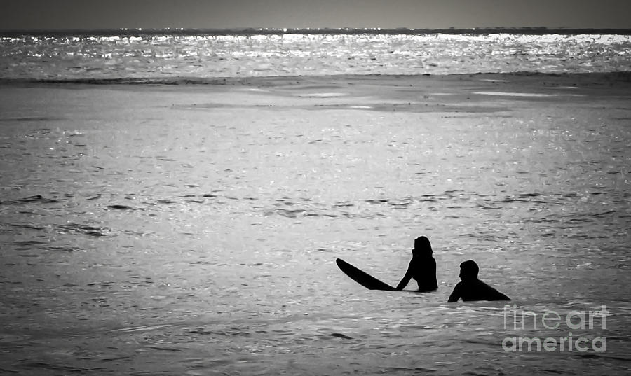 Ocean Photograph - Date Night by Amy Fearn