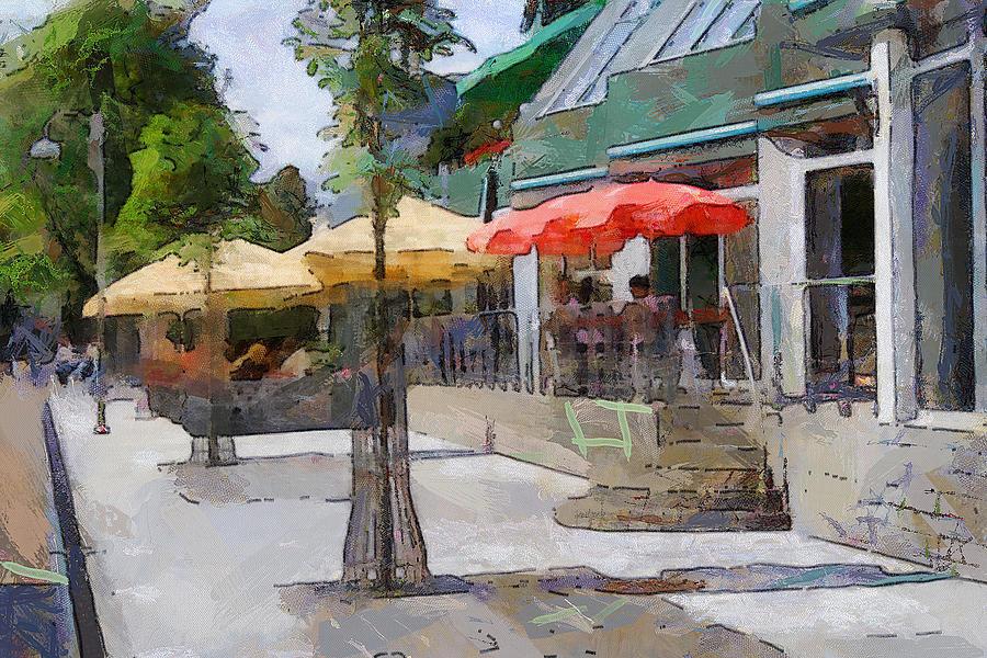 Daugavpils Digital Art - Daugavpils Street by Yury Malkov