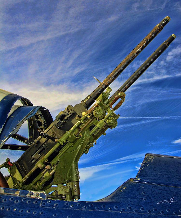 Tail Gun Photograph - Dauntless Tail Gun by Dale Jackson