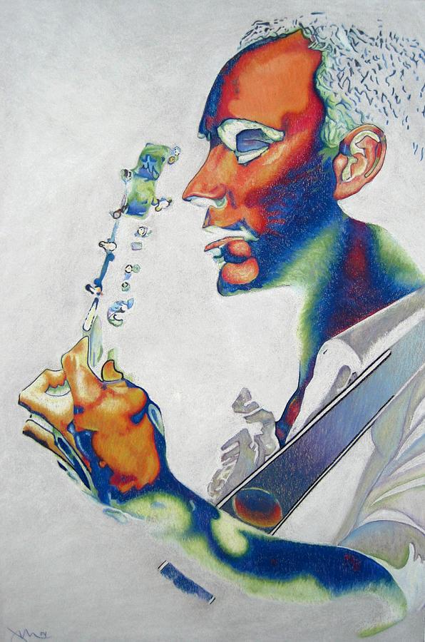 Dave Matthews Drawing - Dave Matthews by Joshua Morton