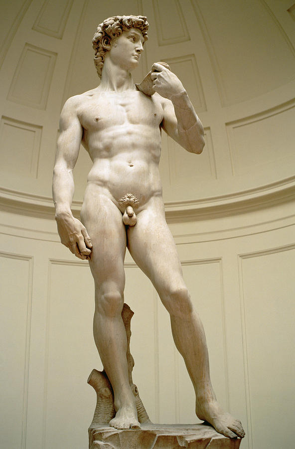 David Photograph - David by Michelangelo Buonarroti