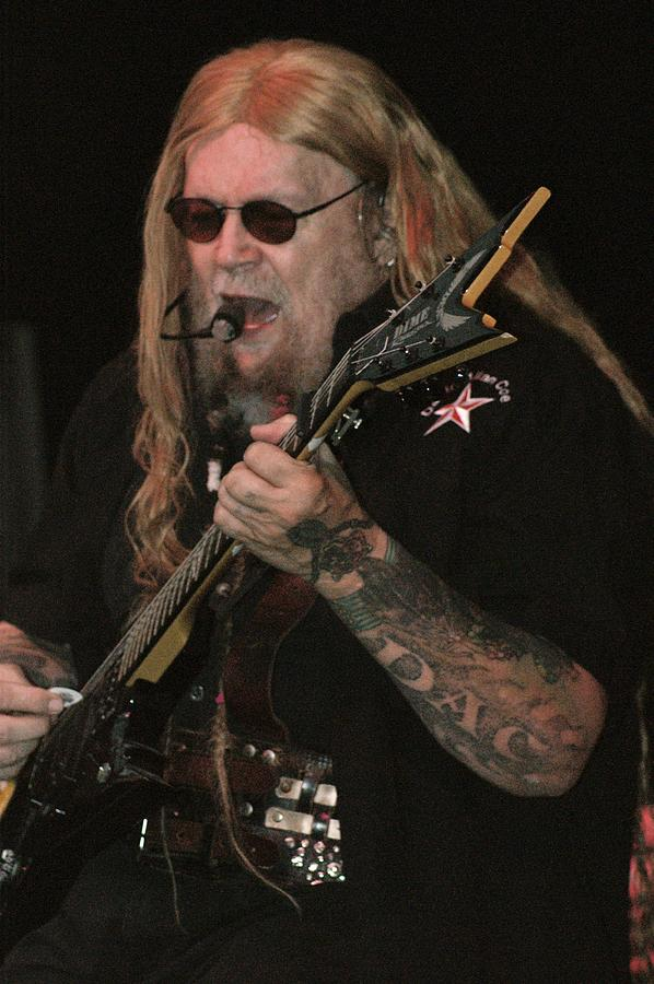 Guitar Photograph - David Allan Coe by Joe Bledsoe