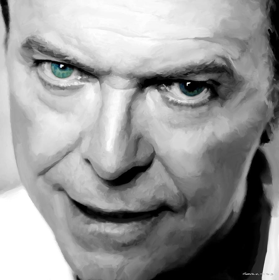 David Bowie Digital Art - David Bowie in clip Valentines Day - 1 by Gabriel T Toro