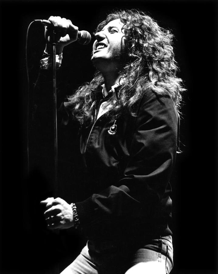 David Coverdale Photograph - David Coverdale by Sue Arber