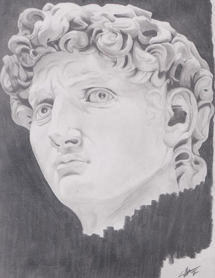 David Drawing by Crosson Nipper