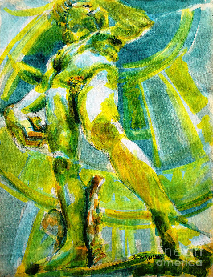 David Revisited Painting
