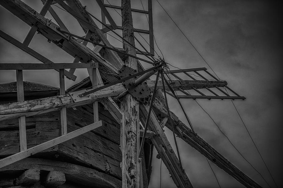 Rural Photograph - Davidson Windmill by Paul Freidlund