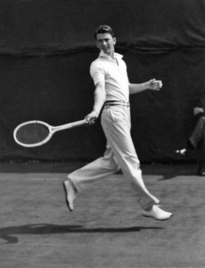 1920s Photograph - Davis Cup Play by Underwood Archives