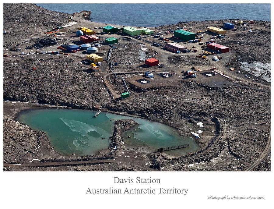 Aerial Photography Photograph - Davis Station 2 by David Barringhaus