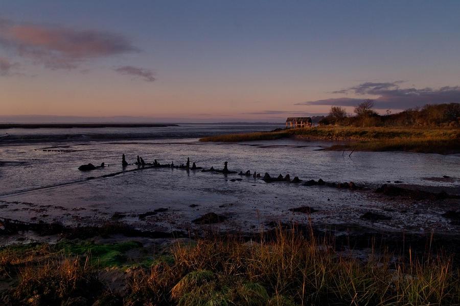 Essex Photograph - Dawn At The Creek by Mara Acoma
