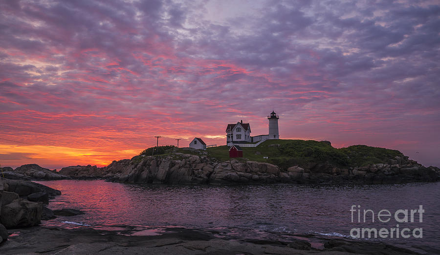 Dawn at the Nubble by Steven Ralser