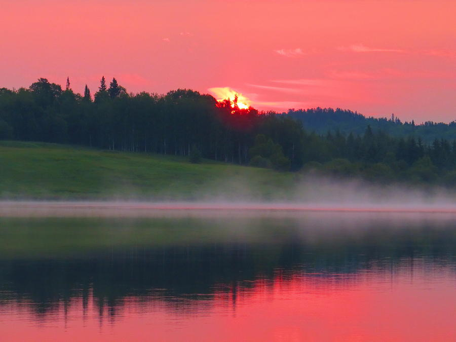 Sun Photograph - Dawn Breaking by Alex  Call