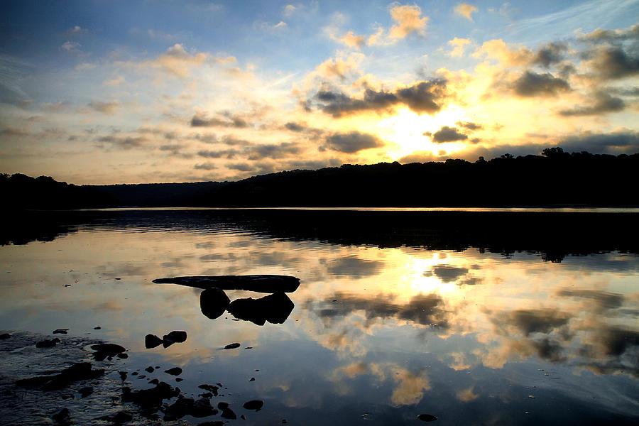 Landscape Photograph - Dawn Breaks by Karol Livote