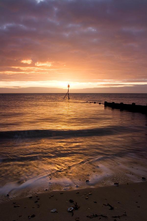 Essex Photograph - Dawn By The Sea by Mara Acoma